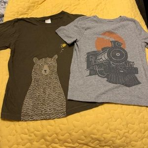 5/$20 2 Shirts Boys Size 5T Gymboree Old Navy SS